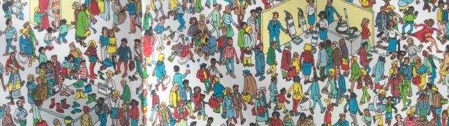 """""""Dov'è Wally?"""" di Martin Handford. L'Ippocampo 2010"""